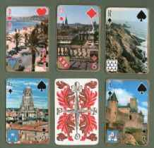 Philibert  Collectible playing cards Scenes of France